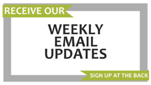Weekly Email Update Announcement