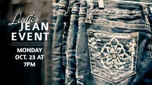 Ladies Jean Event