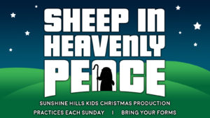 Sheep in Heavenly Peace