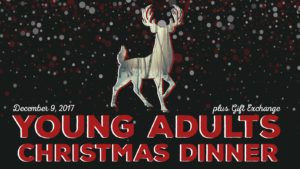 Young Adults Christmas Dinner