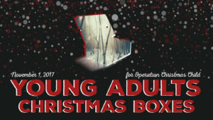 Young Adults Christmas Shoeboxes