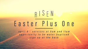 Easter Plus One