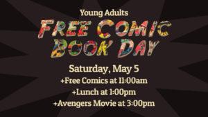 YA Free Comic Book Event